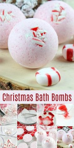 This Christmas bath bomb recipe uses easy, all natural ingredients. Make these fun holiday bath bombs as a DIY gift! This Christmas bath bomb recipe uses easy, all natural ingredients. Make these fun holiday bath bombs as a DIY gift! Diy Gifts For Christmas, Homemade Christmas, Christmas Christmas, Christmas Ideas, Minimal Christmas, Christmas Bath Bombs, Homemade Bath Bombs, Diy Bath Bombs, Making Bath Bombs