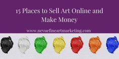 4 Amazing Artist Websites You Must See - Nevue Fine Art Marketing Selling Art Online, Online Art, Online Sites, Selling Paintings, Paintings Online, Oil Paintings, What Is An Artist, Artist Branding, Writing Art