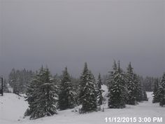 Mt. Hood Nov. 12,2015 Our We do not need to #protectourwinters main real-time visibility image