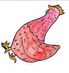 Fröken Flano Filosoferar: Sagan om den lilla röda hönan Little Red Hen, Rooster, Fairy Tales, Matte, Animals, School, Animales, Animaux, Fairytail