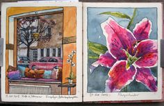 Nina Johansson...Beautiful journal art, along the likes of Cathy Johnson...Gorgeous street art & visual ramblings.