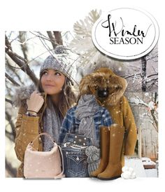 Bundle Up, it's Cold out there.... by colierollers on Polyvore featuring polyvore fashion style Patagonia J.Crew Miss Me Furla UGG Australia Helly Hansen Dot & Bo women's clothing women's fashion women female woman misses juniors