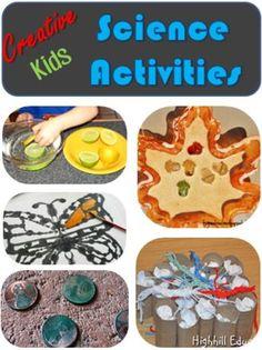 Creative kids science activities #LearnActivities