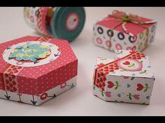 Cómo hacer una caja de regalo de papel | Anita y su mundo scrapbooking