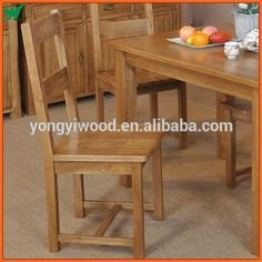 Solid Wood Dining Chair Dining Room Furniture