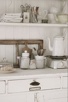 Rustic, country charm kitchen design.