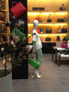 Aigner´s pop up area at Magasin du Nord