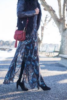 Can't get enough of maxi dresses this winter. I feel like my closet is filled with them but it's just an easy statement dress that doesn't require much styling. I'm obsessed with this one fromMaje, it has a very Chloévibe.Jeremy and I shot quite a lot in Geneva before I left,this was one of my...