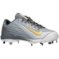 Nike Lunar Vapor Pro - Men's - Baseball - Shoes - Stealth/Metallic Gold/ White/Light Graphite-sku:83895071