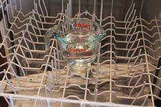 How to Clean a Dishwasher LEARN how to Keep your dishwasher sparkling clean and odor-free with these step-by-step cleaning instructions and helpful tips vide. Dishwasher Racks, Cleaning Your Dishwasher, Kitchen Cleaning, Kitchen Tips, Homemade Cleaning Supplies, Cleaning Hacks, Organizing Tips, Organization, Hard Water Stains