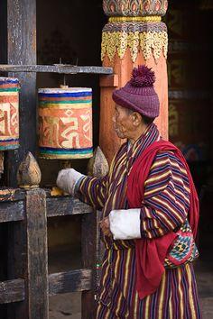 In Thimpu. Kijk voor meer reisinspiratie op www.nativetravel.nl