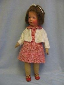 "SUPER RARE 1930s Vintage Pattern ~ Boy /& Girl Dolls COMBO 17/"" tall"