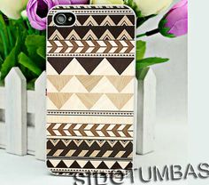 Aztec Chevron Pattern cool - iPhone 4,4S,5,5S,5C, Case - Samsung Galaxy S3,S4,NOTE,Mini, Cover, Accessories,Gift
