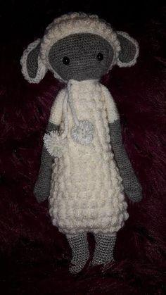 LUPO the lamb made by Daniela K. / crochet pattern by lalylala