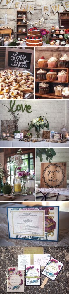 Becky + Pete   Rustic/Boho Inspired Chicago Outdoor Wedding with tons of D.I.Y. Details.