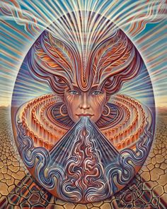 'Spirit' art by Amanda Sage