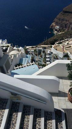 Fira. Gorgeous Santorini by Peggyk