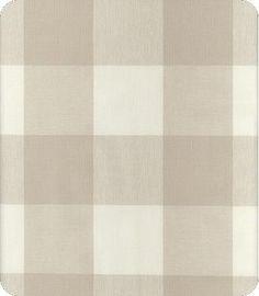 Buffalo check fabric-French fabric Houston look