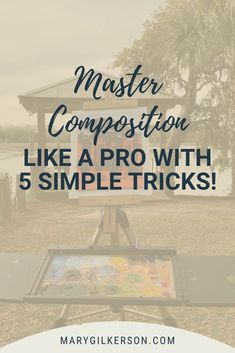 Mastering composition can be a difficult thing as an artists, whether you're a beginner or not! Save this pin and clikc through to check out these 5 tips from a professional artists on how to improve composition!