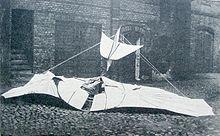 Otto Lilienthal - Der beschädigte Flug-Apparat