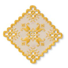 zakka collection [雑貨コレクション] きれい色に出会った 北欧生まれのハーダンガー刺しゅうドイリーの会 フェリシモ