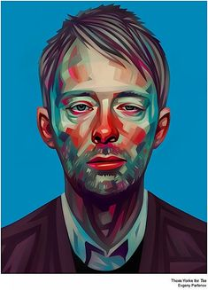 Thom Yorke by Evgeny Parfenov...want it