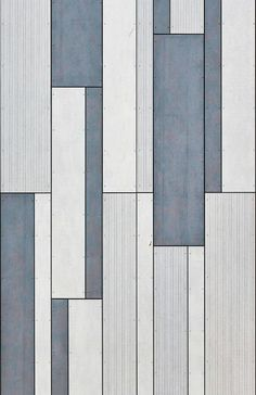 Newest EQUITONE 3D facade materials combined in vivid facade pattern. equitone.com: