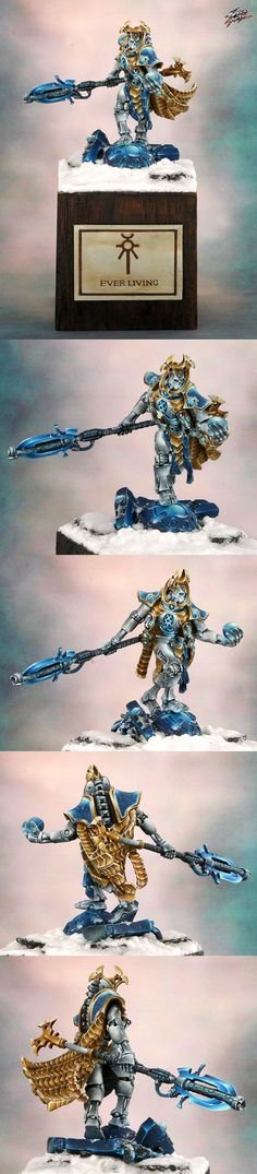 Excellent necron model. Different than the usual.