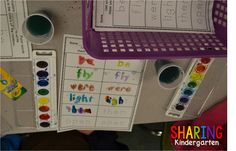 Sight Word Stations... see how to engage students is doing more than just learning the words... but building, using, and working with sight words