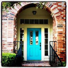 Turquoise door ..lovee