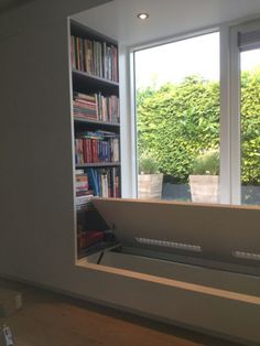 Mooi idee voor raambank