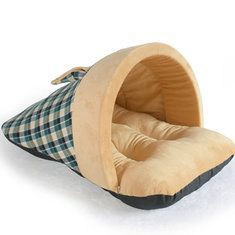 Hapet Pet Dog Cat Soft Warm Sleeping Bag Puppy Sleeping Cave House Winter Bed Mat is Worth Buying - NewChic Cat Cushion, Bed Mats, Animal House, Pet Beds, Sleeping Bag, Small Dogs, Pet Supplies, Baby Car Seats, Unisex