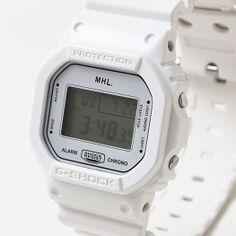 MHL. G-SHOCK WHITE