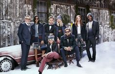 The Hilfigers love it when everyone's together (and color-coordinated) for the holidays.