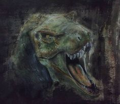 T-REX - Aquarela nanquim e guache. O rugido mais loko dos cinemas fala aí? . T-REX -Watercolor nankin and gouache. The most badass roar from the movies don't u think? . . . . . . . . . . . . . . . #art #illustration #ink #jurassik #drawing #draw #picture #photography #artist #sketch #sketchbook #paper #pen #pencil #artsy #instaart #rascunho #instagood #desenho #arte #rascunho #gallery #masterpiece #creative #photooftheday #instaartist #graphic #graphics #artoftheday