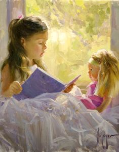 I LOVE this, absolutely beautiful. I will have this in my practice.  Vladimir Volegov - Child 3 - Original Acrylic on Canvas Painting