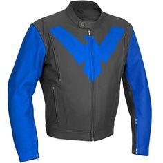 Nightwing leather jacket