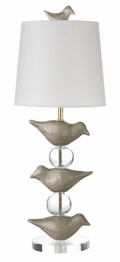If it didn't offend me to spend almost $400 on a lamp for my daughter's nursery... I would buy this lamp, which I love.