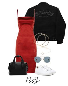 """""""#862"""" by blendingtwostyles ❤ liked on Polyvore featuring Versace Jeans Couture, D&G, Eytys, Ahlem and CHARLES & KEITH"""