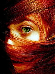 Red head! Love natural red heads... I truly believe they don't get the respect they deserve.. stand up and be beautiful