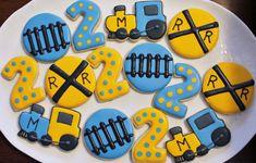 #trains #trainideas Train Cookies!