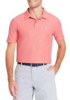 Izod Men's Big & Tall Short Sleeve Polo - Rose - 3Xlt