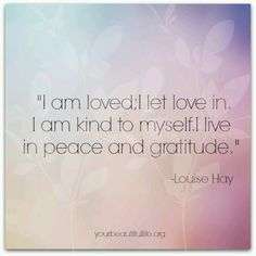 Positive affirmations are phrases or mantras that you repeat to yourself, which describe a specific outcome or who you want to be. Louise Hay Affirmations, Love Affirmations, Positive Thoughts, Positive Quotes, Louise Hay Quotes, Mudras, Believe, A Course In Miracles, Guy