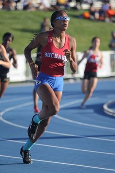 Hannah's strength on display as she tackles the 400 meters.