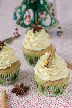 Cupcakes de vainilla chai latte