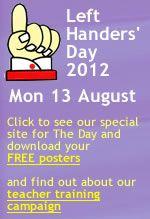 Left Handers Day site