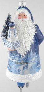Patricia Breen, Santa for Colin, Shades of Blue/White 2016