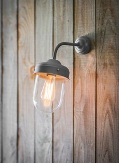 The Big Barn Light in Charcoal is designed for outdoor use perfect for lighting up your doorway