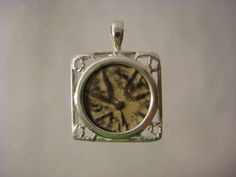 Sterling Silver pendant w/ Biblical Widows Mite by HamedianGallery, $129.99