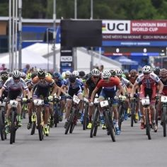 Mountain bike cross country World Cup event in Nove Mesto na Morave